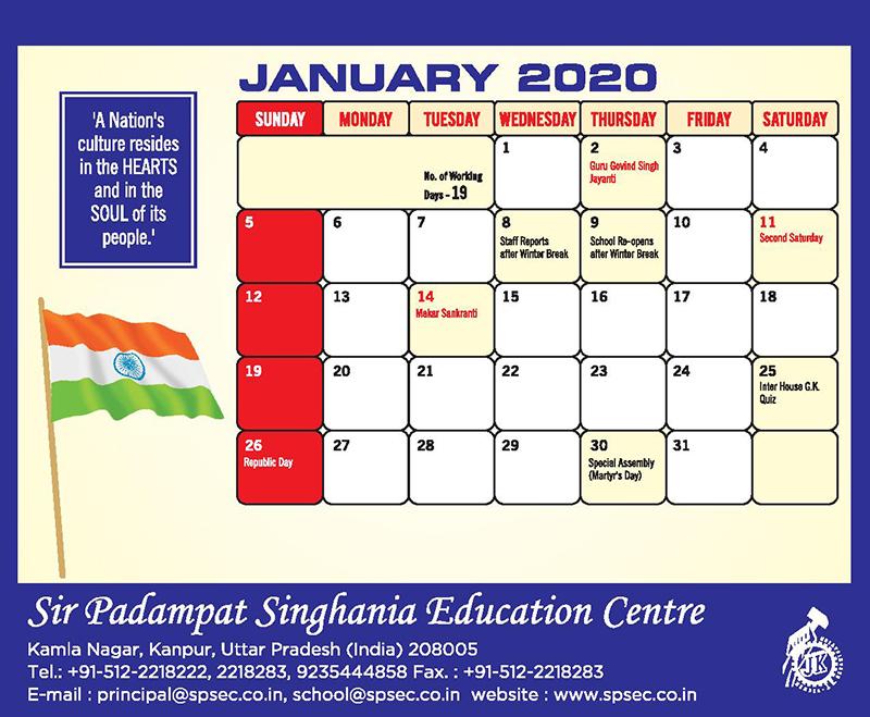 planner spsec 1 to 5-jan-2020