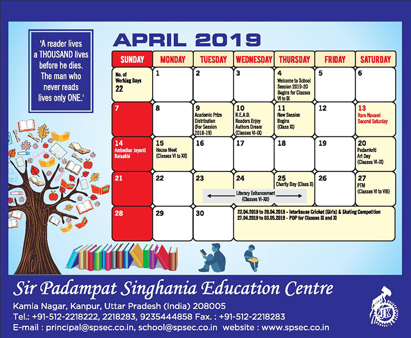 planner spsec 6 to 12-apr-2019