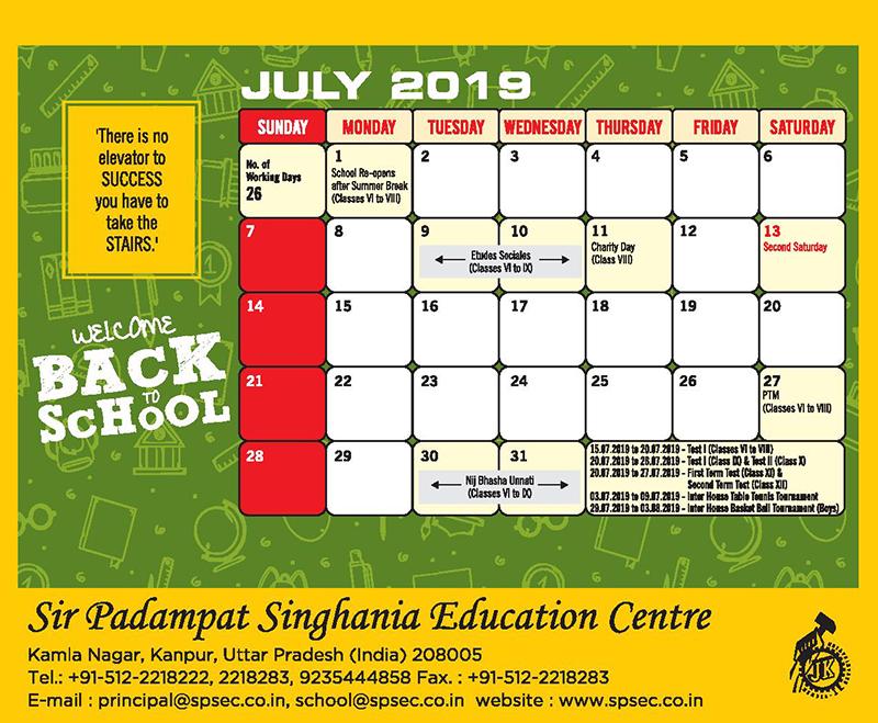 planner spsec 6 to 12-jul-2019